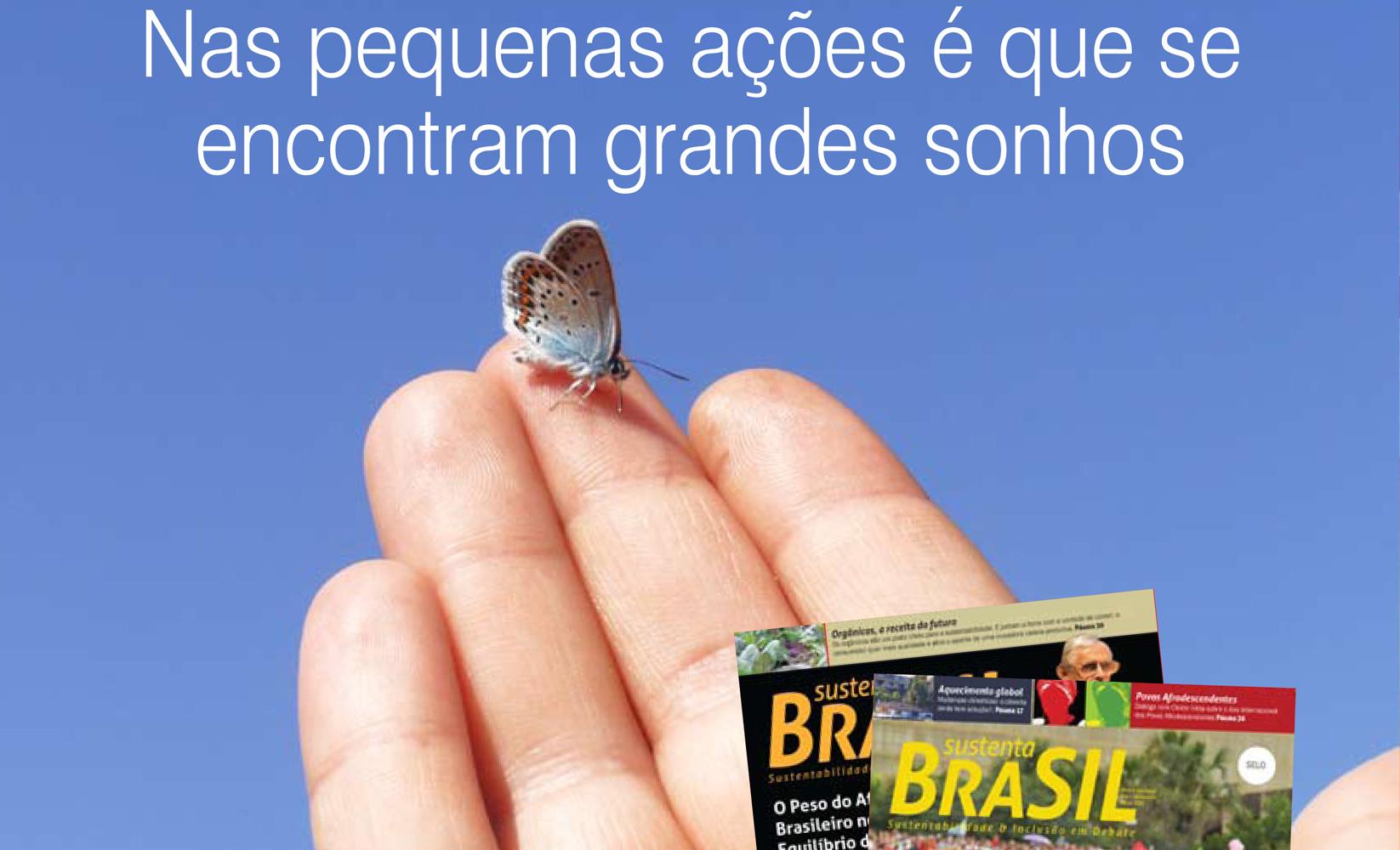 Lançamento Revista Sustenta Brasil