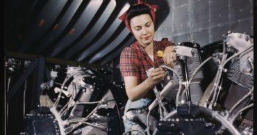 Mulheres no mercado de trabalho.