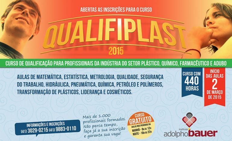 Curso de qualificação - Qualifiplast 2015