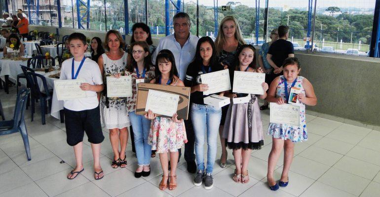 Entrega de Prêmios do II Concurso de Desenho e Redação
