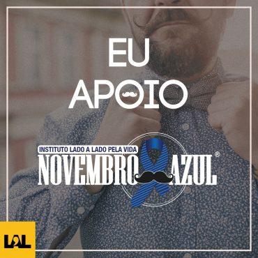 EU APOIO | NOVEMBRO AZUL