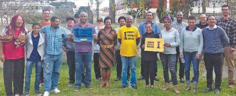 Reunião do grupo na Sociedade Operária Beneficente 13 de Maio, na última semana